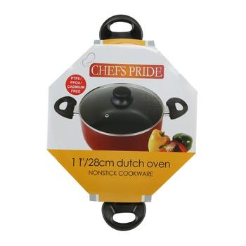 Chefs Pride Non Stick Dutch Oven 28cm