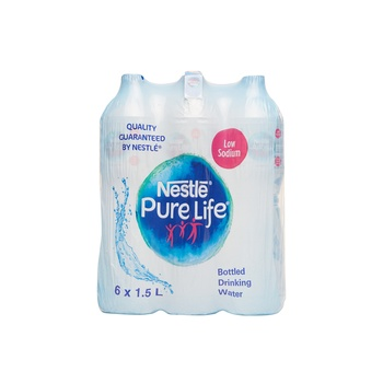 Nestle Pure Life Bottled Drinking Water 6 X 1.5ml