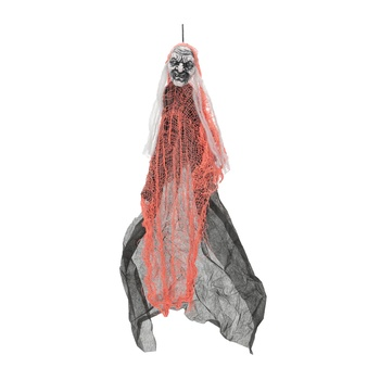 Chamdol 28Inch Black Witch With Orange