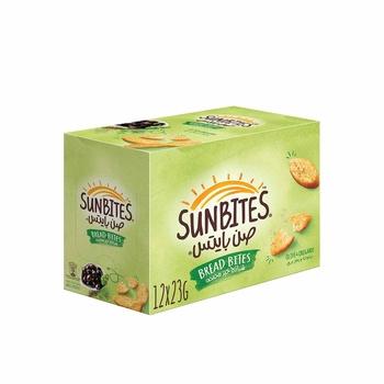 Sunbites Olive & Oregano 12x23g