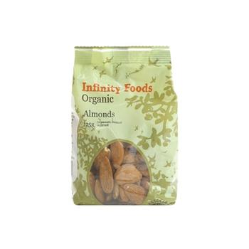 Infinity Foods Organic Almonds 125g