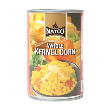 Natco whole kernel corn 425gm
