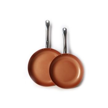 Copper Chef Fry pan set 2 pcs (25cm  + 30cm)