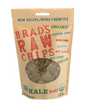 Brads Raw Food Chips Kale Hot 85g