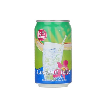 La Ming Coconut Juice With Pulp 310ml