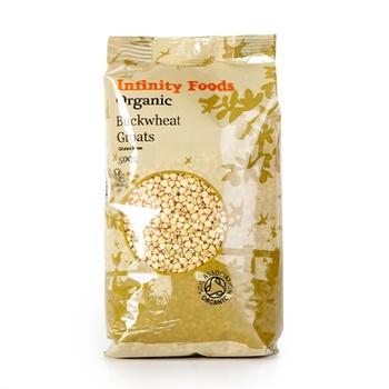 Infinity Organic Buckwhet Groats 500g