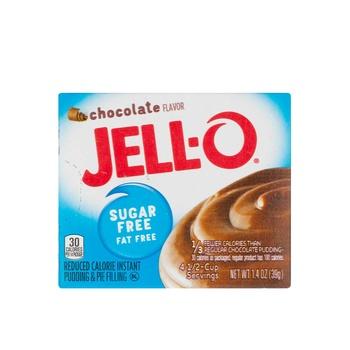 Jell-O sugar-free instant chocolate mix 1.4oz