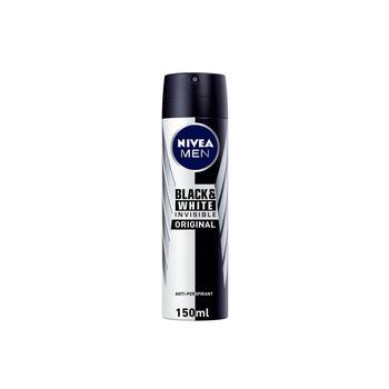 Nivea Men Invisible for Black & White Anti-perspirant Spray 150ml