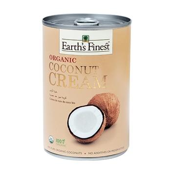 Earth`s Finest Organic Coconut Cream 400ml