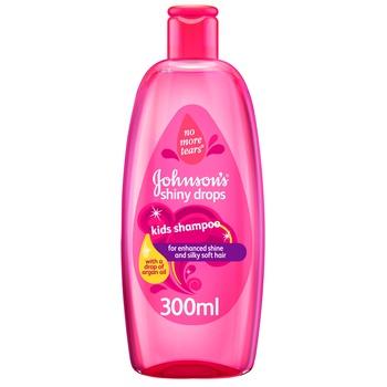 Johnsons Shiny Drops Baby Shampoo 300ml