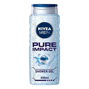 Nivea Pure Impact For Men Shower Gel
