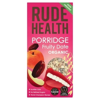 Rude Health Organic Porridge - Fruity Date 500g