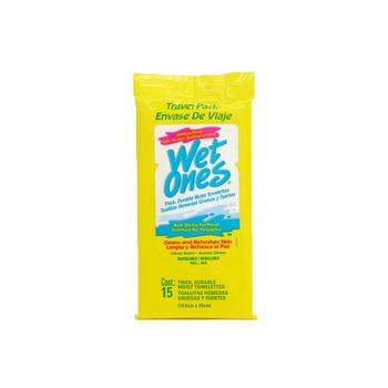 Wet Ones Wipes Citrus Scent 15 Sheets