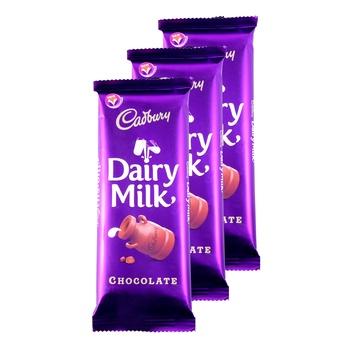 Cadbury Dairy Chocolate Milk 90g Pack of 3