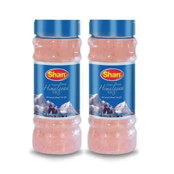 Shan Himalayan Pink Salt 400g Pack of 2
