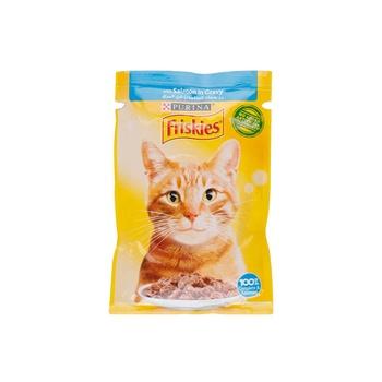 Friskies Cat Cig Salmon Pouch 85g