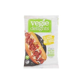 Vegie Delights Meat Free Classic Hotdogs 300g