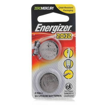 Energizer Battery ECR 2032 BP2