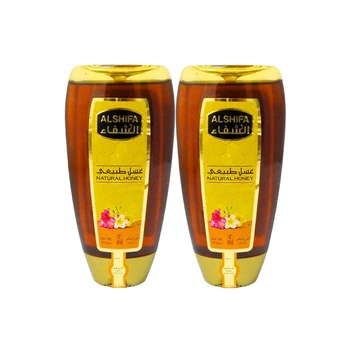 Al Shifa Honey Natural Squeeze 400g Pack Of 2