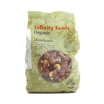 Infinity Foods Organic Hazelnuts 250g