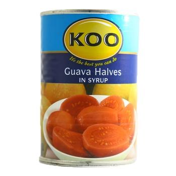Koo Guava Halves In Syrup 410g