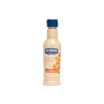 Hellman honey & mustard salad dressing 210ml