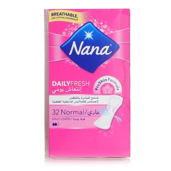 Nana Panty Liners Normal Multi 32s