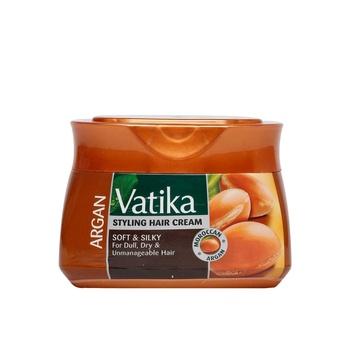 Vatika Styling Hair Cream Argan 210 ml