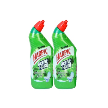 Harpic Liquid Toiler Cleaner Pine 500 ml pack of 2