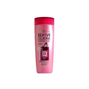 Loreal Elvive Nutri Gloss Shampoo Long Dull Hair 400 ml