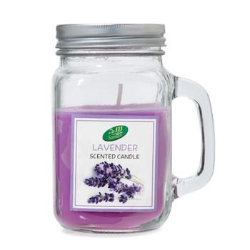 Samar Candle Jar Lavender  # CHST-0559