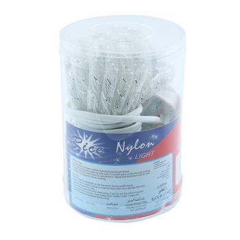 Rice Light Nylon 100 Lights - White