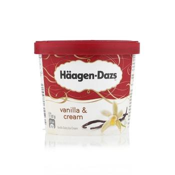 Haagen Dazs Vanilla & Cream Ice Cream 100ml