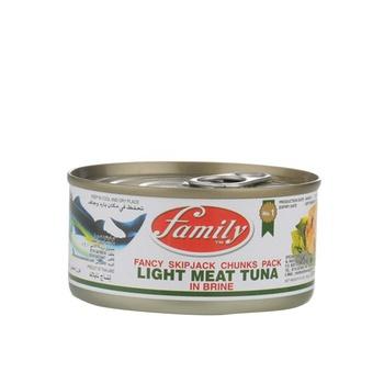 Family Light Meat Tuna Chunk In Brine 185g