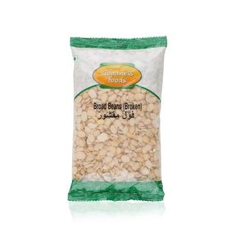 Goodness Foods Broad Beans Broken 500g