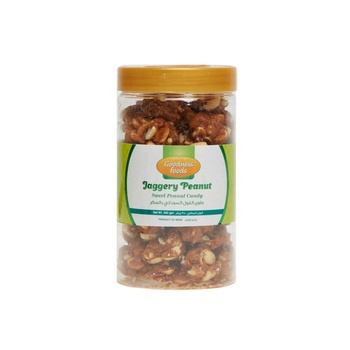 Goodness Foods Jaggery Peanut Candy 350Gms