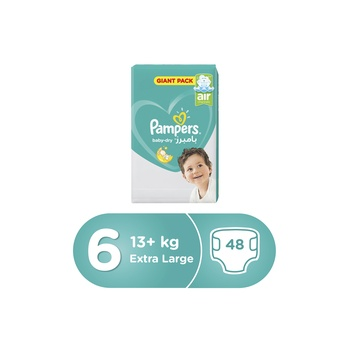 Pampers Active Baby 6 Large (13+kg) 48pcs
