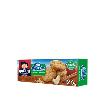 Quaker Oat Cookies Apple & Cinnamon 126g