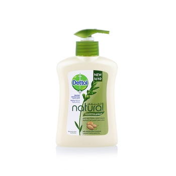 Dettol Handwash Natural Olive & Almond 200ml