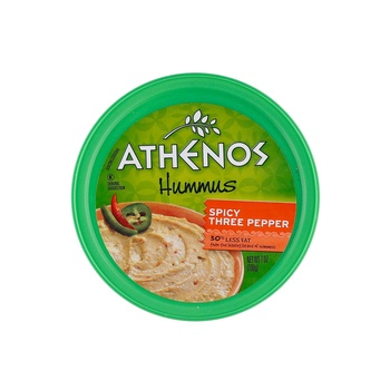 Athenos Three Pepper Hummus 7oz