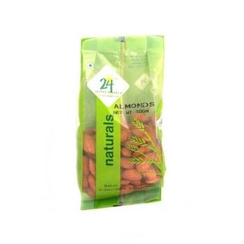 24 Mantra Organic Almonds 100g