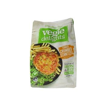 Vegie Delights Tender Crumbed Schnitzel Meat Free 300g