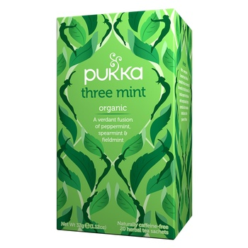 Pukka Organic Three Mint Tea Bag 20X1.6G
