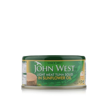 John West Light Meat Tuna Solid In Sunflower Oil 170g