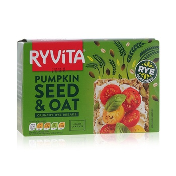 Ryvita Pumpkin Seeds & Oats C/Bread 200g