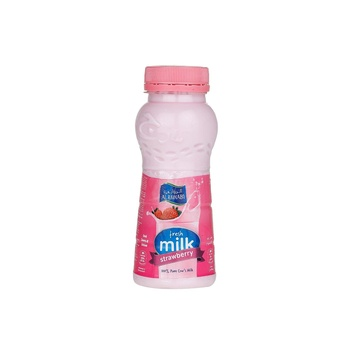 Al Rawabi Fresh Milk Strawberry 200ml
