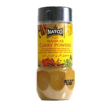 Natco Hot Madras Curry Powder 100g