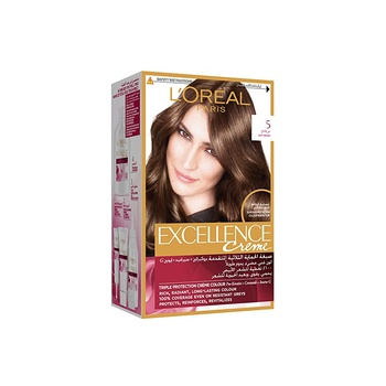 Loreal Excellence Light Brown 5 Sp@25%