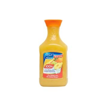Almarai Juice Pineapple Orange Grape No Sugar Added 1.5 ltr