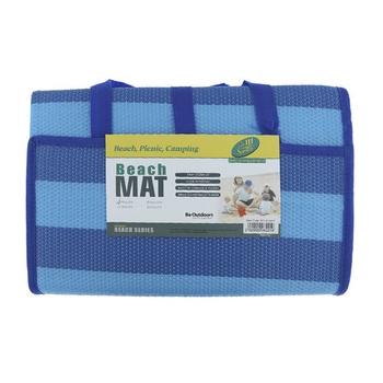 Beach Mat Blue 150cm X 200cm